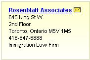Enhanced Canada Immigration Lawyer Listing Listing